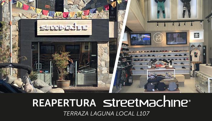 Reapertura tienda Street Machine Mall Sport