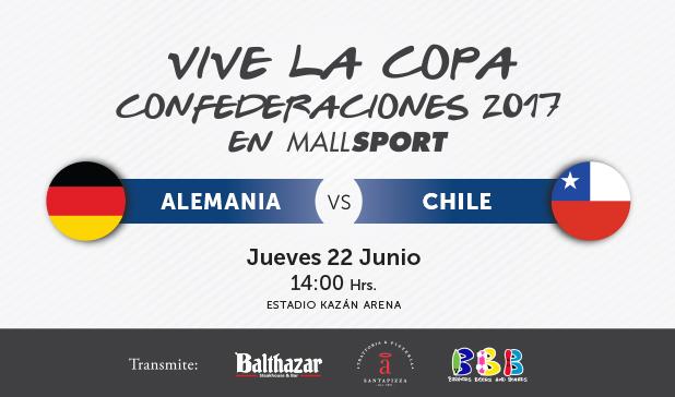 ¡Vive la Copa Confederaciones 2017 en Mall Sport!