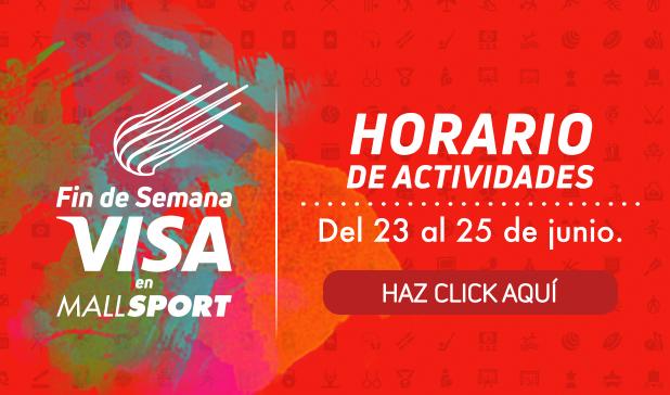 Horarios Fin de Semana Visa Mall Sport