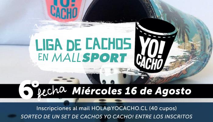 6ta Fecha: Liga de Cachos en Mall Sport