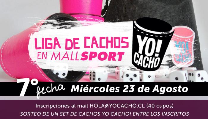 7ta Fecha: Liga de Cachos en Mall Sport