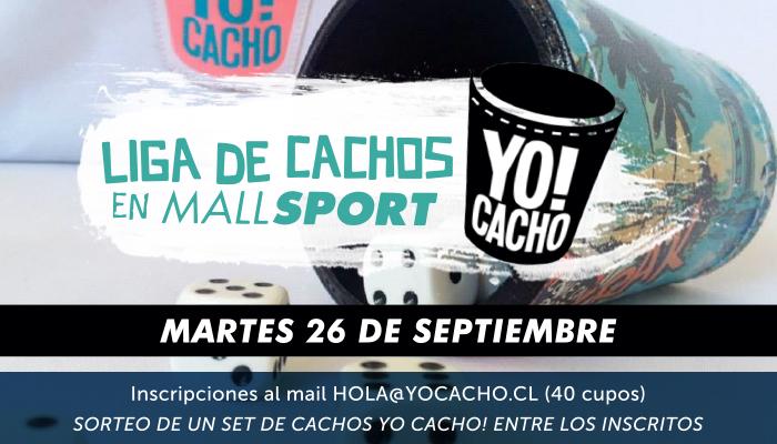 10ma fecha Liga de Cachos en Mall Sport