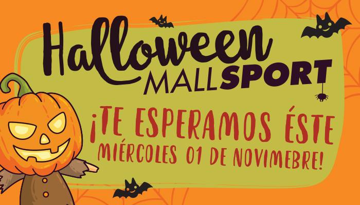 Halloween en Mall Sport