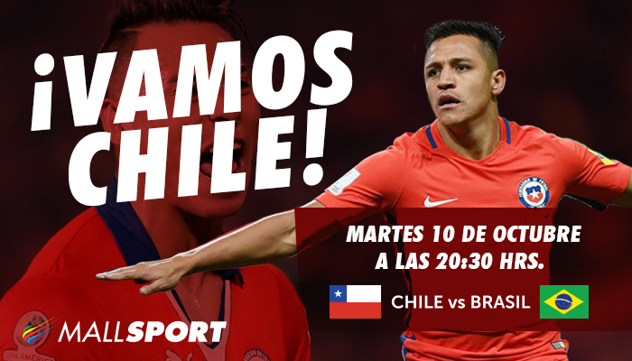 Chile vs Brasil – Clasificatorias Rusia 2018