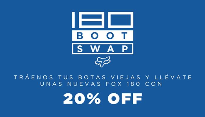 Dona tus botas y obtén 20% Dcto.