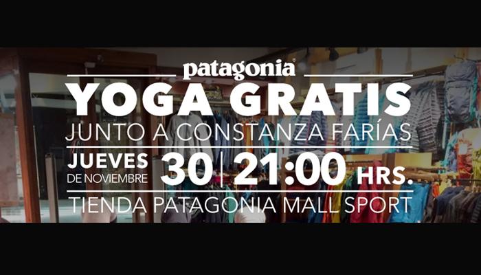 Yoga en Patagonia Mall Sport