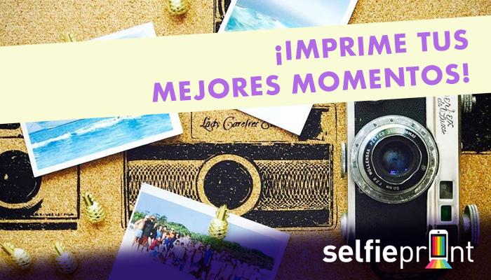 ¡Imprime tus mejores momentos en SelfiePrint Mall Sport!