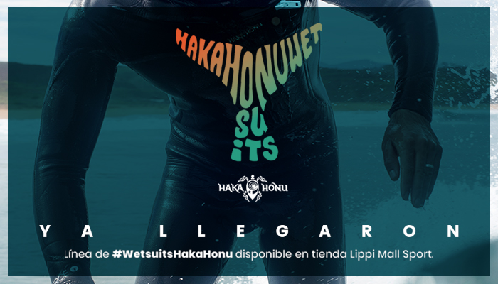 Nuevos Wetsuit Haka Honu en Lippi