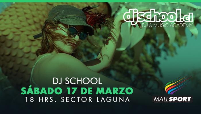 ¡Sábado de música por Dj School en Mall Sport!
