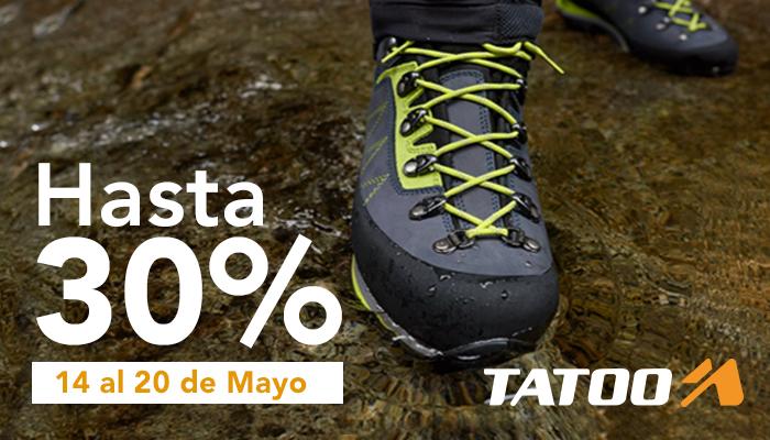 Promo zapatos en Tatoo Adventure Gear