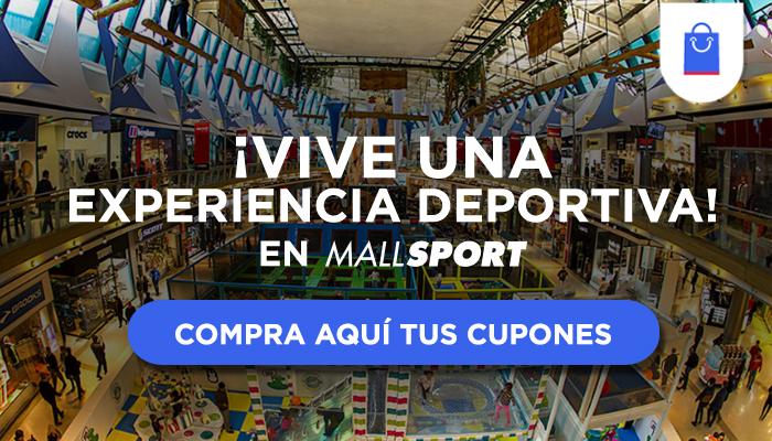 ¡Vive una experiencia deportiva en Mall Sport!