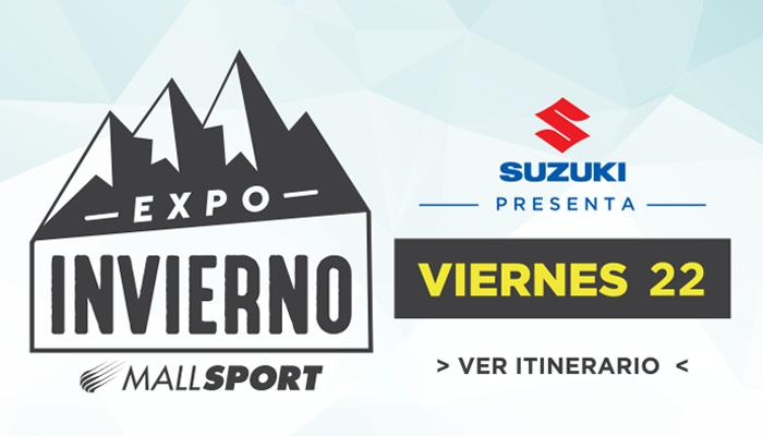 Expo Invierno en Mall Sport