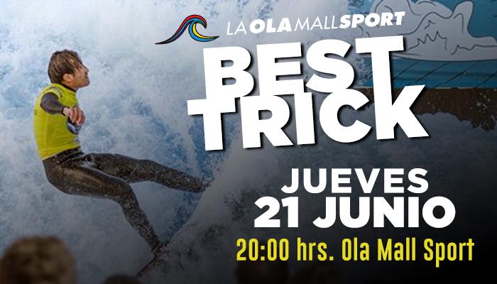 Best Trick en la Ola Mall Sport