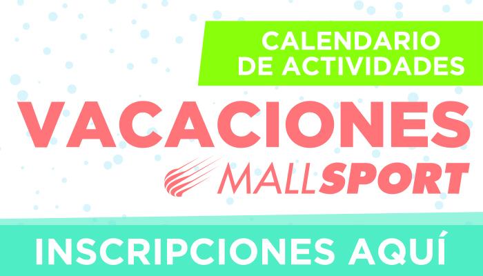 Vacaciones de invierno en Mall Sport