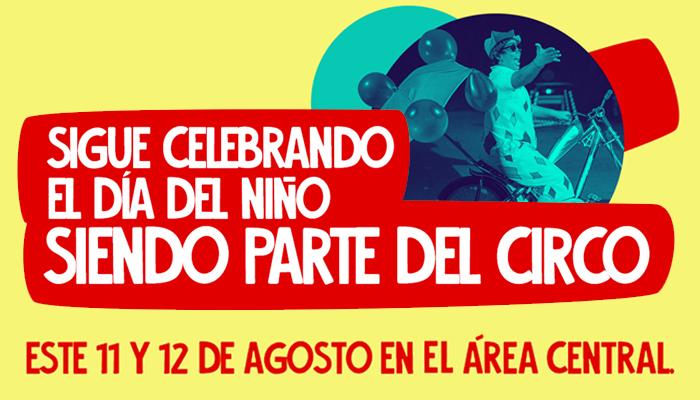 Sigue celebrando el día del niño en Mall Sport