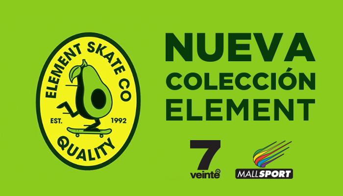 Nueva colección Element en 7veinte Mall Sport