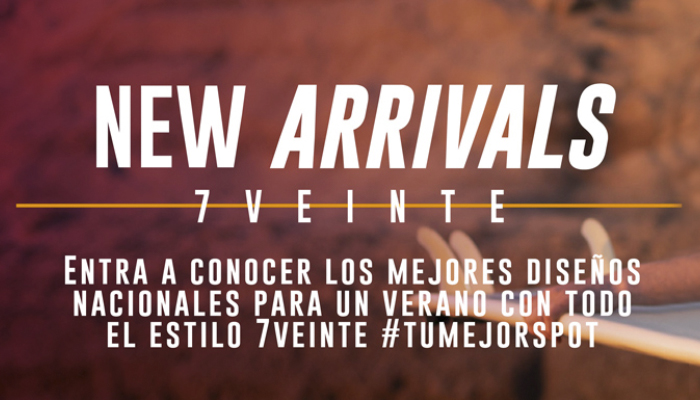 New Arrivals en 7veinte Mall Sport