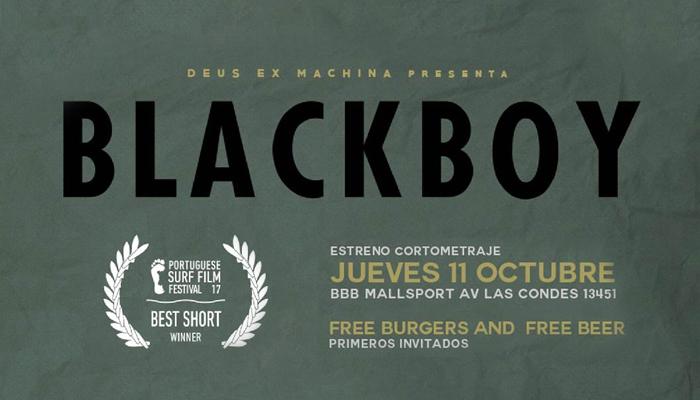 Súper Jueves + Estreno cortometraje Blackboy en BBB Mall Sport