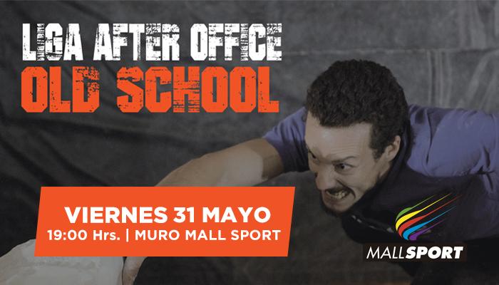 Liga After Office Old School en el Muro Mall Sport