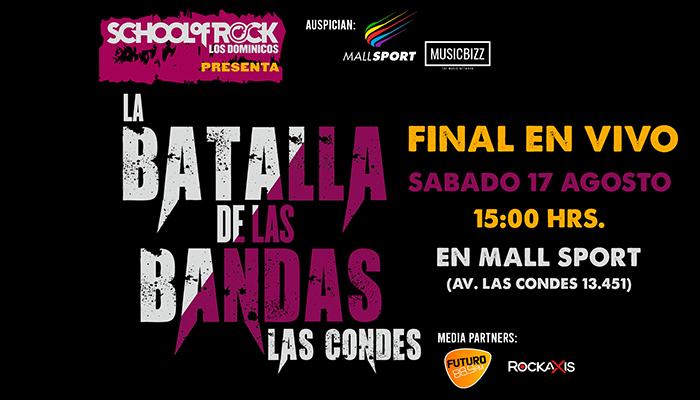 Final School of Rock en Mall Sport