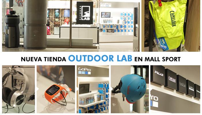 Nueva tienda Outdoor Lab en Mall Sport