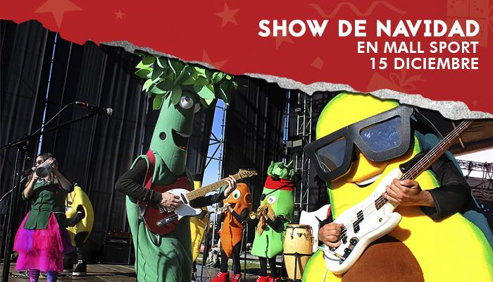 Show de Navidad en Mall Sport