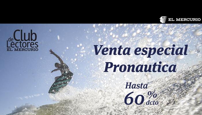 Venta especial Pronautica | Club de Lectores El Mercurio