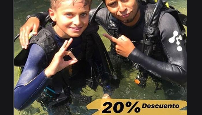 20% Dcto. en clases de buceo