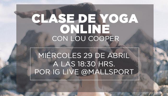 Clases de yoga en vivo